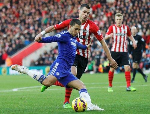 Hazard có màn trình diễn tuyệt vời, gỡ hòa 1-1 cho Chelsea