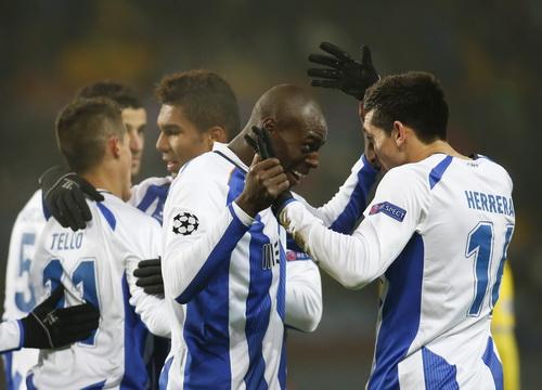 Hector Gerrera và Tello, tác giả 2/3 bàn thắng của Porto