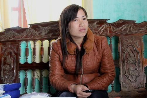 Cô Nguyễn Thị Linh Thanh, Phó hiệu trưởng Trường THCS Bồng Lĩnh, nói về sự việc