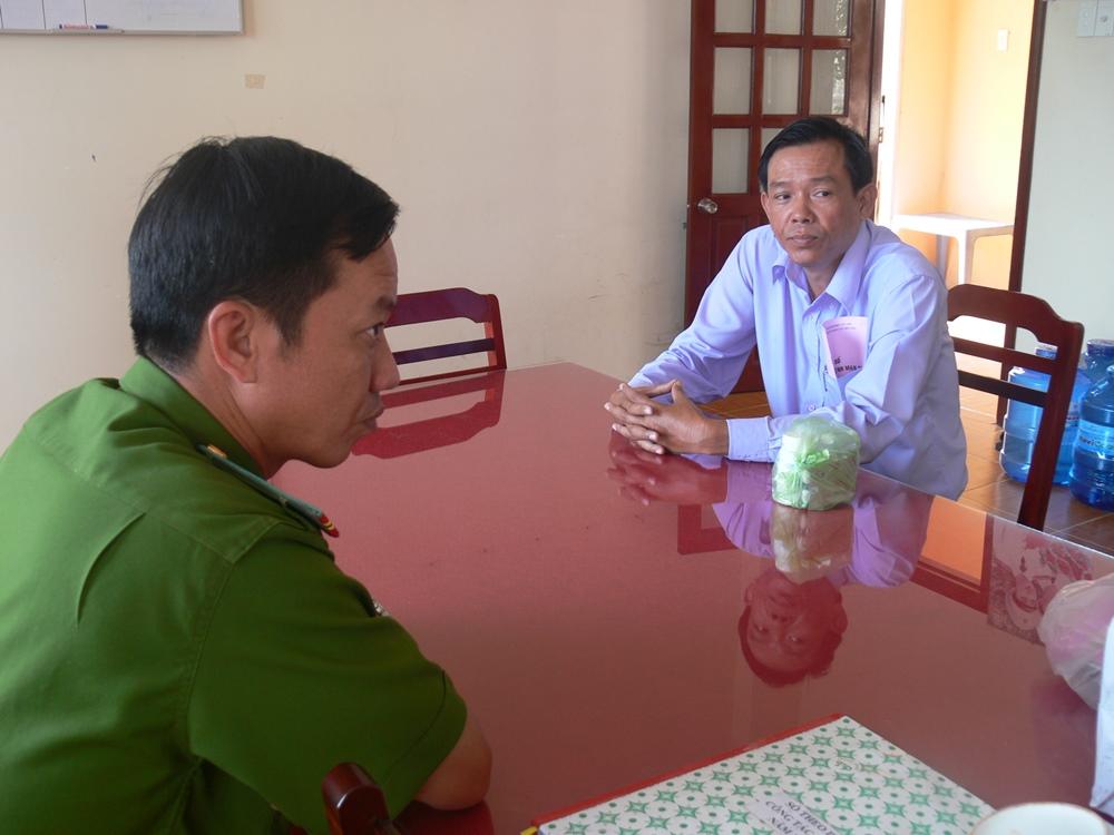 Ông Nguyễn Thiện Hồng, nguyên giám đốc Quỹ TDND Hậu Giang đã bị bắt