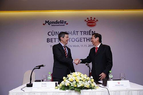 Cái bắt tay hợp tác cùng phát triển của Mondelēz International và Kinh Đô