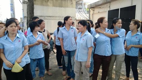 CN Công ty Young Woo ngừng việc phản ứng cách hành xử trái luật của Công ty