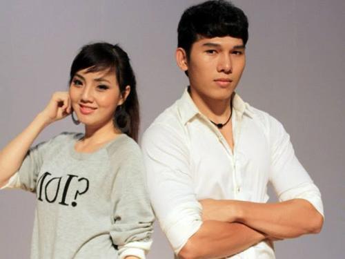 Hồ Kim Chi và siêu mẫu Trương Ngọc Tình trong vở Chuyện của Điệp