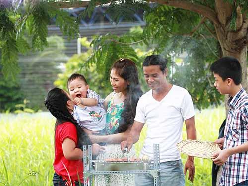 Vai trò của người đàn ông trong gia đình rất quan trọngẢnh: Anh Vy