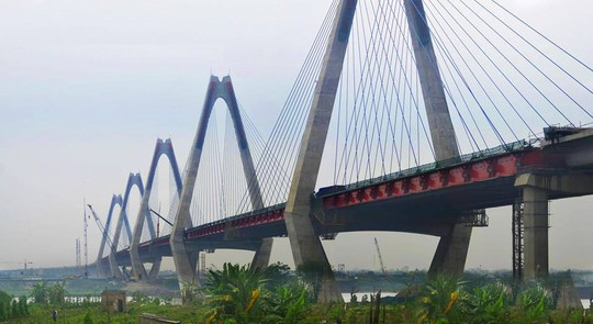 IHI là một trong những nhà thầu liên danh xây dựng cầu Nhật Tân