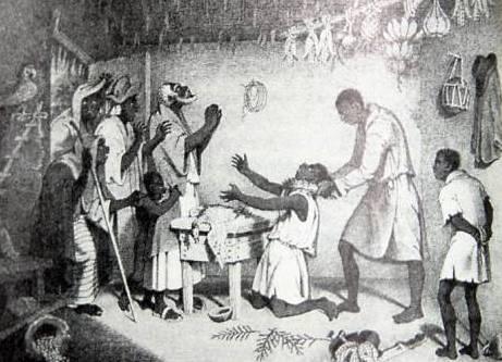 Việc dùng trinh nữ cúng tế vẫn còn diễn ra ở một số khu vực của Nigeria. Ảnh: novus ordo watch