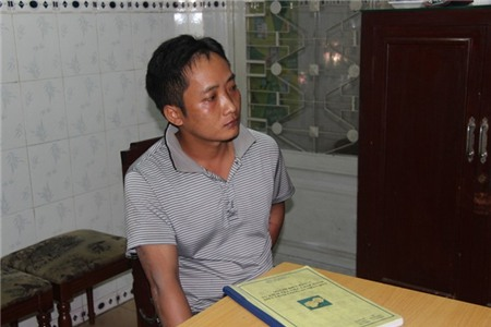 Nguyễn Văn Dũng lúc mới bị bắt