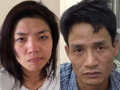 Vợ chồng Nguyễn Thị Thùy Dương và Nguyễn Viết Huỳnh