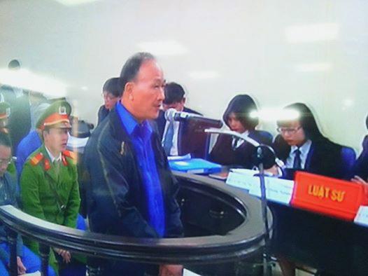 Bị cáo Huỳnh Quang Tuấn: Đơn kháng cáo chưa hẳn là đơn kêu oan, đơn xin xem xét cũng chưa hẳn là đơn nhận tội. Ảnh chụp qua màn hình
