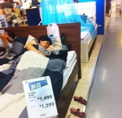 Dường như khá buồn cười nhưng Ikea lại xem đây là một cách đầu tư cho tương lai. Ảnh: odditycentral