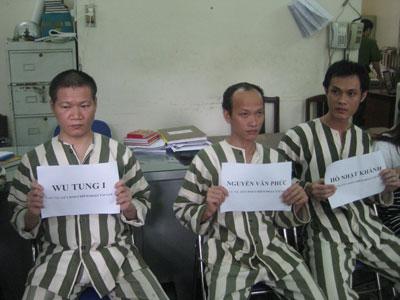 Wu Tung I và đồng phạm tại cơ quan công an