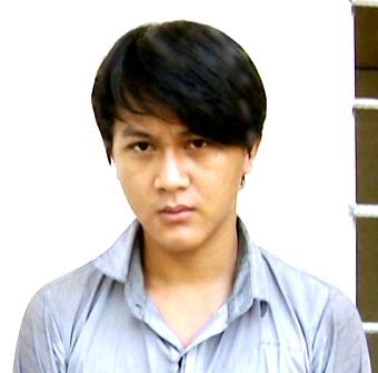 Nguyễn Thủy Hoàng lúc mới bị bắt