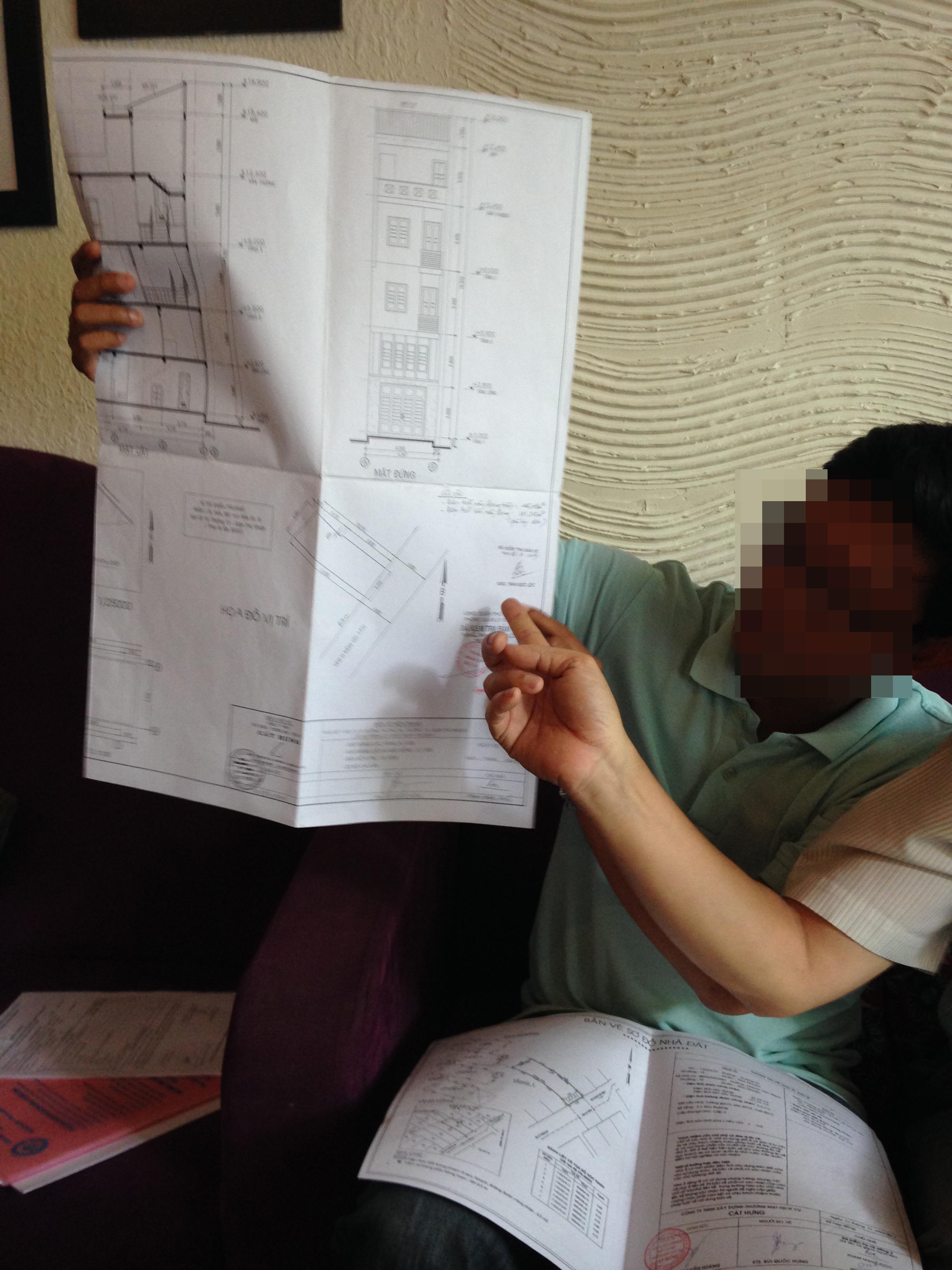 Một trong những giấy tờ mà dân sợ nhất khi đi làm chủ quyền nhà đất là bản vẽ sơ đồ hiện trạng vì phải vẽ đi vẽ lại nhiều lần