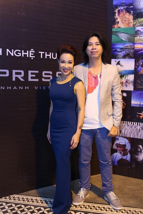 Uyên Linh và nhạc sĩ Dũng Đà Lạt