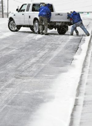 The Deep South Sees Rare Snowfall