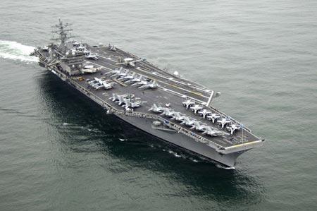 The USS Nimitz. (Photo/US Navy)