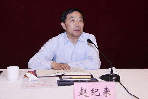 杭州市经信委前主任赵纪来在市政府办公楼坠楼(图)
