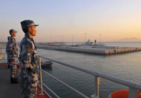 China navy PLA aircraft carrier Liaoning
