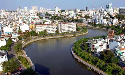 Tour du ngoạn kênh Nhiêu Lộc sẽ được khai thác từ tháng 12-2014. Ảnh: ML