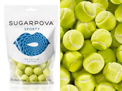 Dòng kẹo mới có hình quả bóng tennis được quảng bá tại Wimbledon 2014