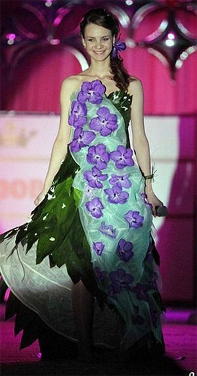Olga từng là một gương mặt khá nổi bật trong cuộc thi sắc đẹp  tại thị trấn quê nhà ở Dmitrov. Ảnh: Daily Mail