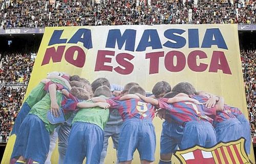 Thông điệp của Barcelona Học viện La Masia: Bất khả xâm phạm