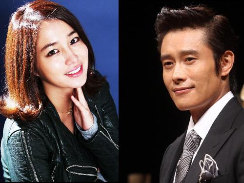Lee Byung Hun cùng vợ