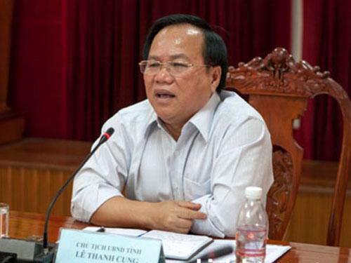 Chủ tịch UBND tỉnh Bình Dương Lê Thanh Cung - Ảnh: Cổng TTĐT Bình Dương