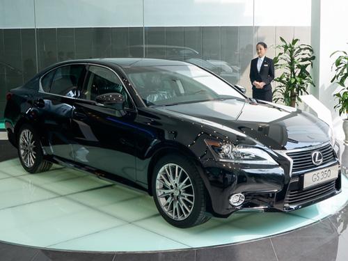 Đại lý xe sang đầu tiên của Lexus đã khai trương ở TP HCM vào đầu tháng 1-2014.
