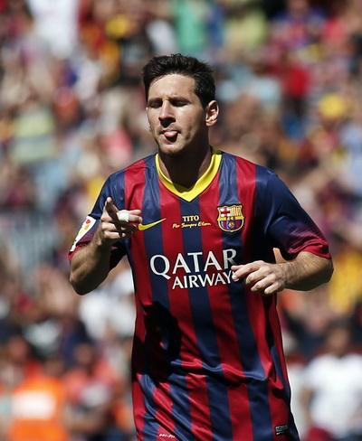 Messi lập công cho Barcelona