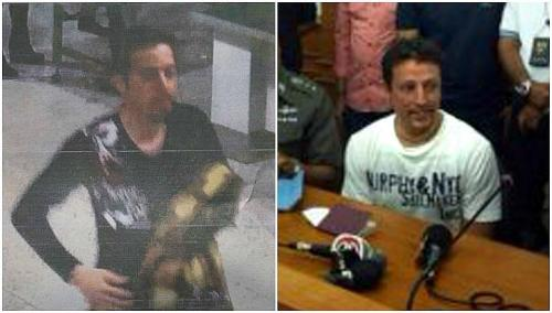 Delavar Seyed Mohammad Madreza (trái) được cho là sử dụng hộ chiếu của công dân người Ý. Ảnh: Daily Mail