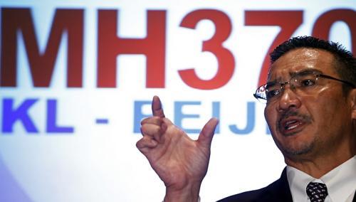 Quyền Bộ trưởng giao thông Malaysia Hishammuddin Hussein. Ảnh: Reuters