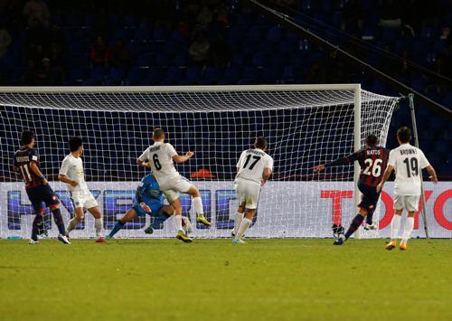 Mauro Matos (26) ghi bàn quyết định phút 93