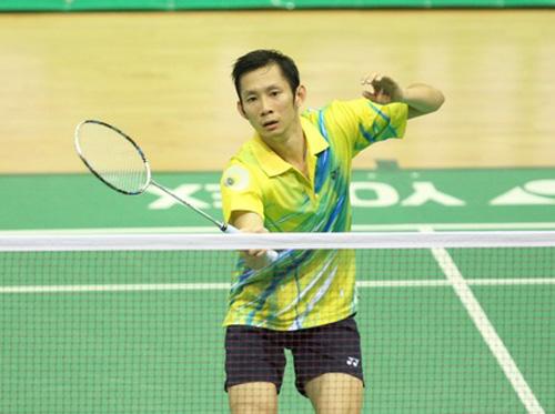 Tiến Minh vẫn là tay vợt số 1 Việt Nam ở thời điểm hiện tại