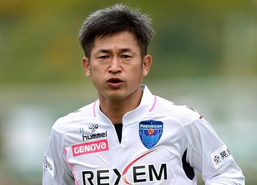 Miura - biểu tượng chưa thất truyền của bóng đá Nhật Bản