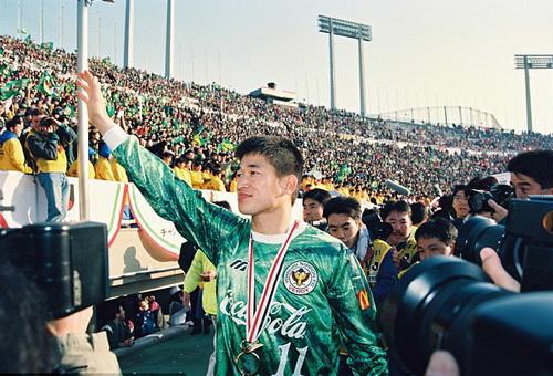 Vô địch J-League 1994 trong màu áo Verdy Kawasaki