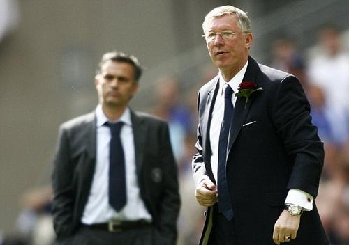 Mourinho đánh giá cao Premier League vì những nhà cầm quân tài năng như Sr Alex Ferguson