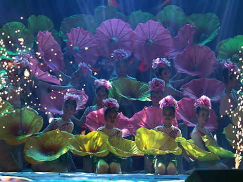 Tiết mục múa mở màn ấn tượng của nhóm múa Những ngôi sao nhỏ