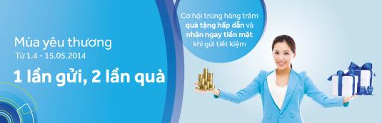 ACB tặng tiền cho người gửi tiết kiệm