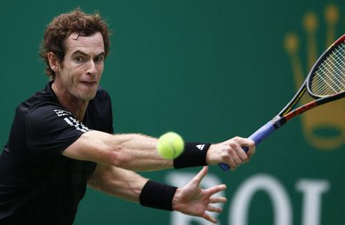 Murray đang nỗ lực để có suất tham dự Giải ATP cuối mùa trên sân nhà London. Ảnh: REUTERS