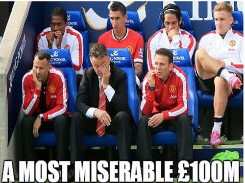 M.U chi 100 triệu bảng mua cầu thủ về dự bị