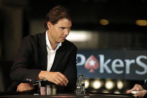 Nadal dự một giải poker ở London hôm 18-11