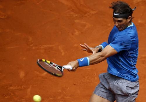 Nadal thẳng tiến vòng ba