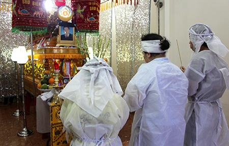 Đám tang ông Nguyễn Văn Chín
