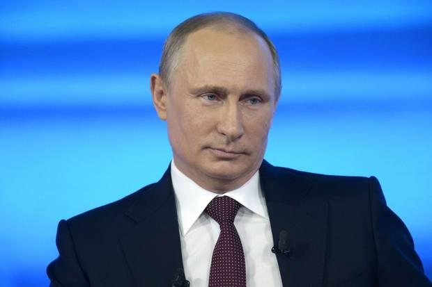 Tổng thống Putin trong chương trình Ask Putin things. Ảnh: Independent