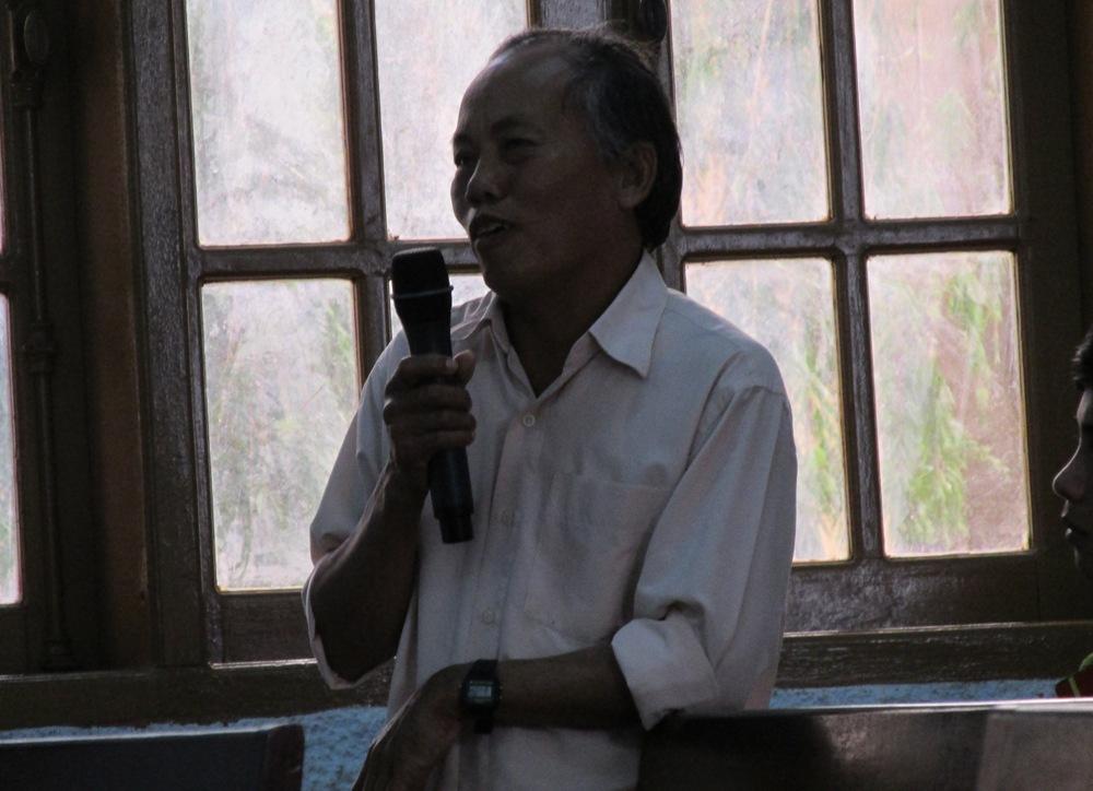 Ông Nguyễn Bổng, Trưởng BQLDA huyện Ia Grai bị tố nhận lại quả 1 tỉ đồng