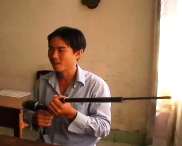 Nguyễn Hoàng Thái và khẩu súng tự chế