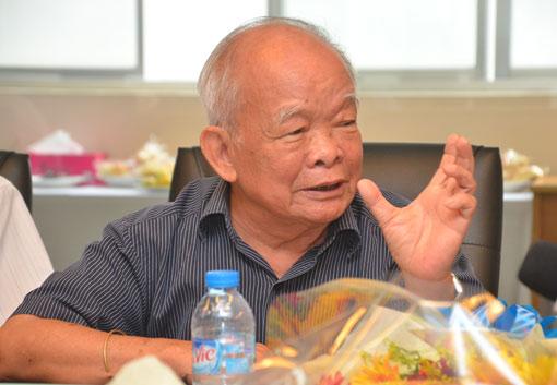 Ông Nguyên Ngọc – Chủ tịch HĐQT Trường ĐH Phan Châu Trinh