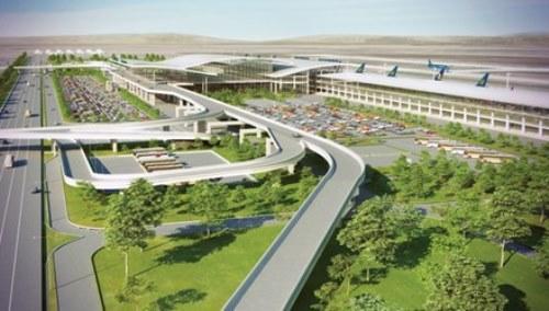 Phối cảnh nhà ga hành khách sân bay quốc tế Long Thành