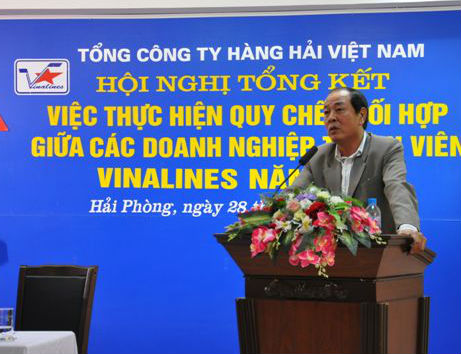 Phó Tổng giám đốc Vinalines Vũ Khắc Từ. Ảnh: Báo Đầu tư